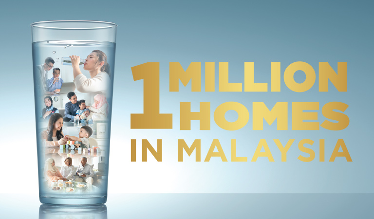 Coway 1 Million Homes In Malaysia