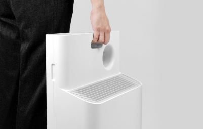 Lightweight Air Purifier with Portable Feature - Coway Breeze