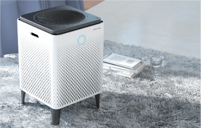 Coway Captain - Compact Air Purifier with Futuristic Design
