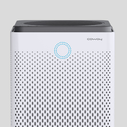 Upper Front View - Coway Captain Air Purifier