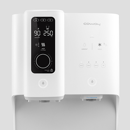 Coway Ombak Water Purifier Upper Front View