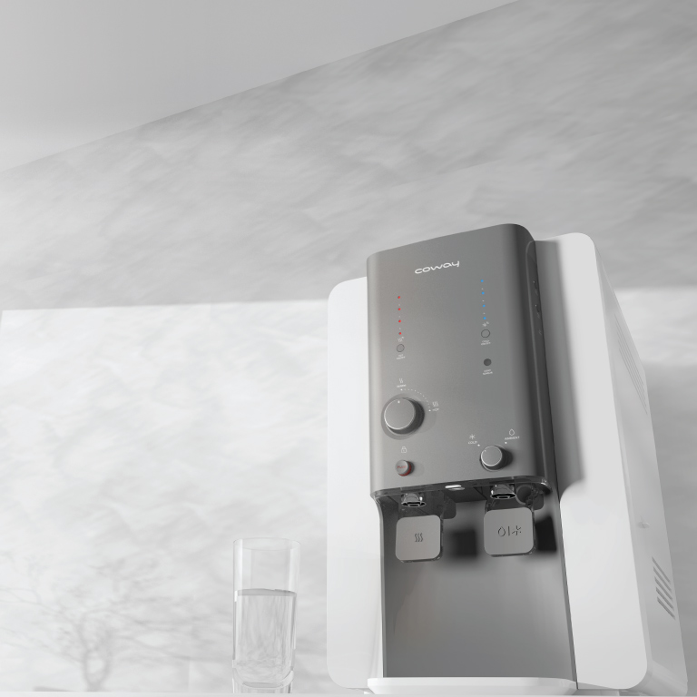 Bottom Front View - Coway Villaem 2, The Best Water Purifier in Malaysia