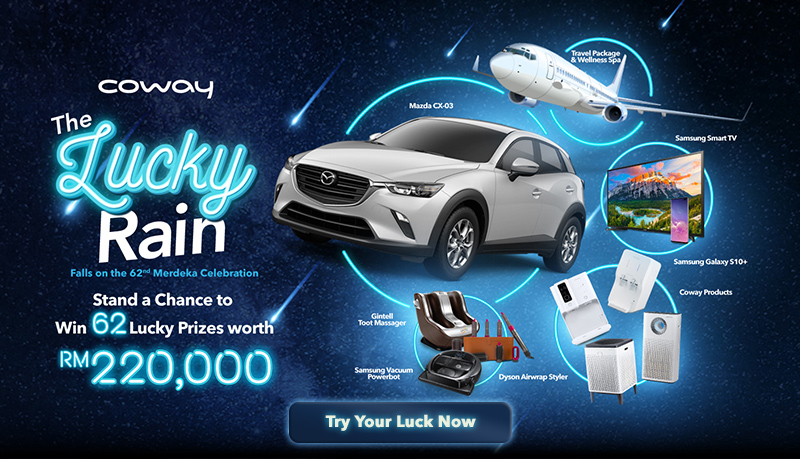 Coway Malaysia Official Site: No 1 Water Filtration & Air